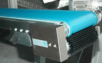 Austragband Gurt-Förderer Typ 66 mit Reinigung